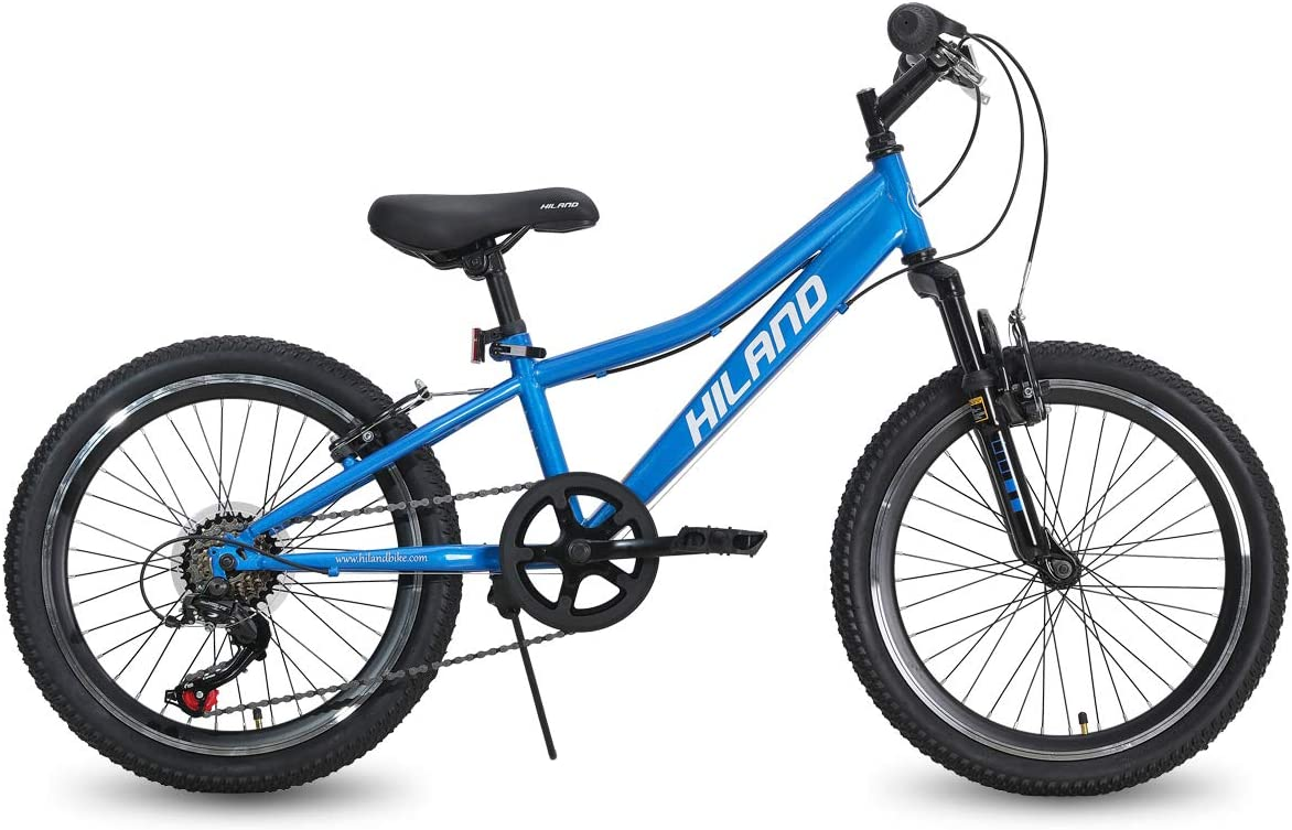 """Details about  /20/"""" Kids Mountain Bike Teens Boys Bicycle 20 Inch MTB Cycling Wheels Blue"""