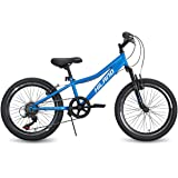 Hiland 20 Inch Kids Mountain Bicycle for Ages 4-9 Years Old Boys Girls
