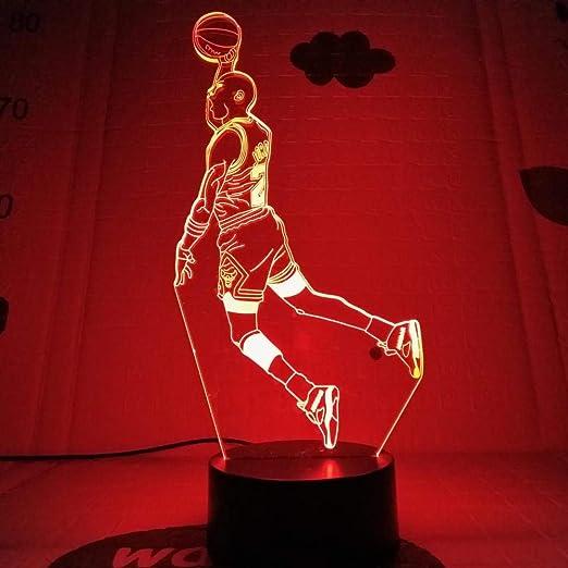 Hombres Jordan Zapatos Baloncesto Luz Nocturna Led 3D ...