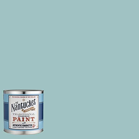 Blue Emulsion Wall Paint, Atlantic Shore By Nantucket Original Colours Of  New England, Flat