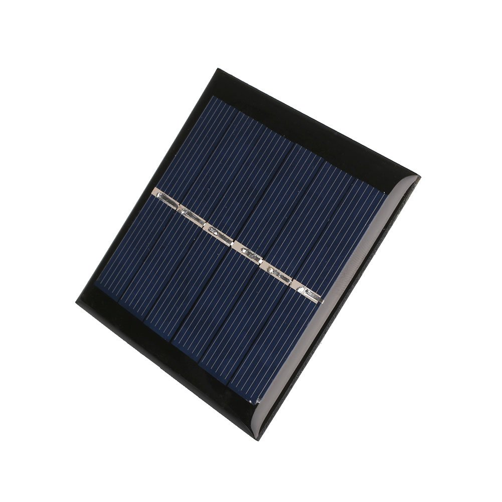 Cewaal 0.6W 3V 160MA Solar Cells Battery Power Supply Charger Silicon Panel For Cell Phone Battery Charger Charging