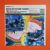 MOODY BLUES Days Of Future Passed DES 18012 LP Vinyl VG+ Cover VG+