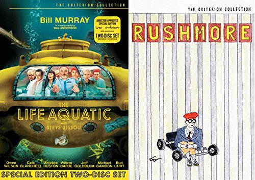 Wes Anderson Criterion Collection Bundle - Rushmore & Life Aquatic (2-DVD Set) (Master Builder Bridges compare prices)