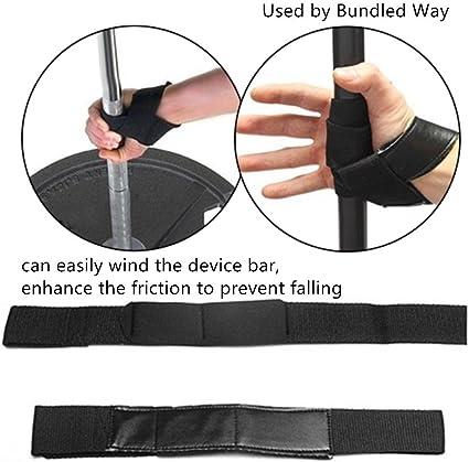 2x Wrist Weight Lifting Strap Bodybuilding Support Grip Power Training Hand Bar