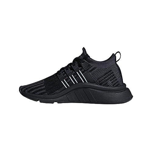 super popular d3645 2b1d9 adidas Originals EQT Support Adv Mid J Black Knit Youth Trainers  Amazon.co.uk Shoes  Bags