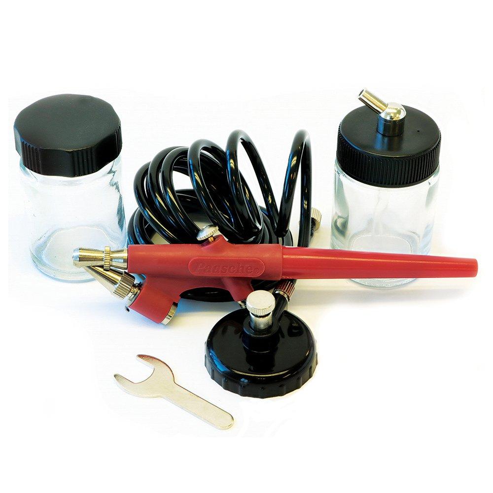 Paasche EZ-STARTER Kit de aerógrafo de acción simple para...