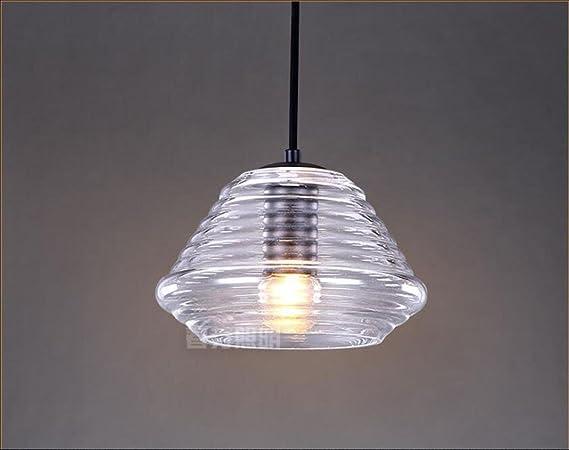 Lampade a sospensione lampadari pendenti in cristallo con filetto