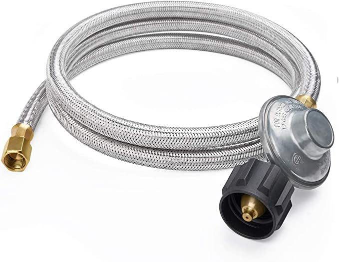 71 inch New 6ft Regular LPG Burners Propane Regulator Hose Gas BBQ