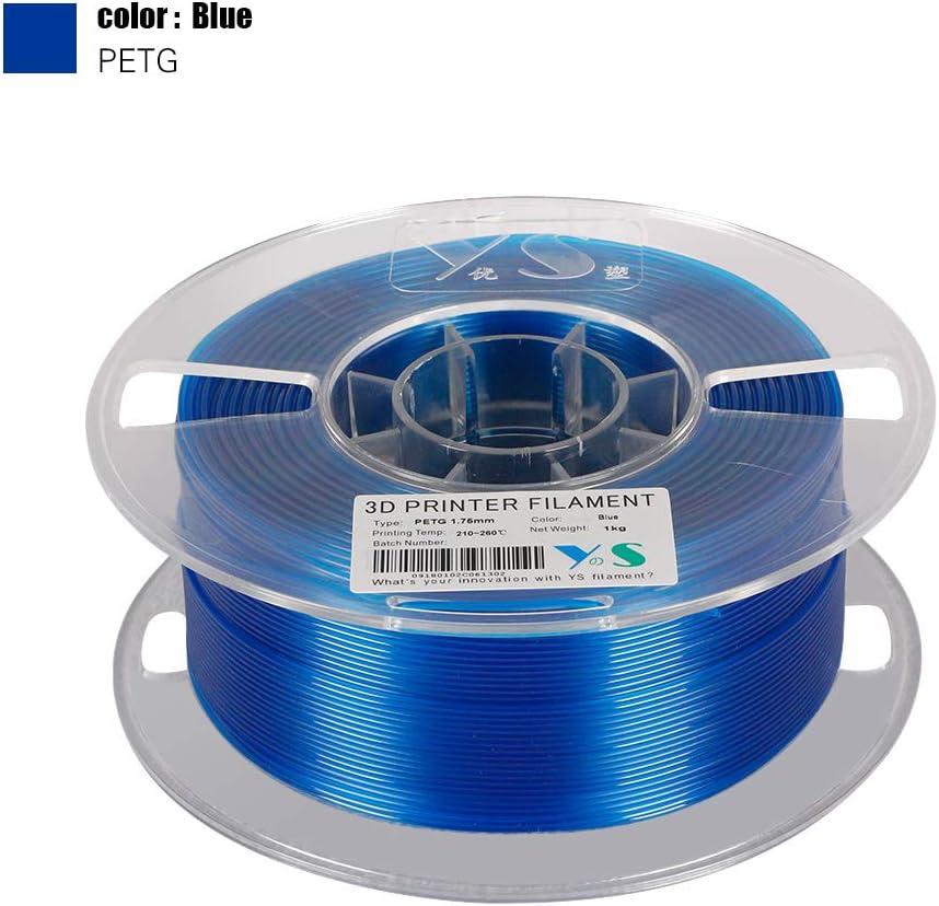Aibecy YouSu PETG Filamento Impresoras 3D Filamentos 1.75 MM ...