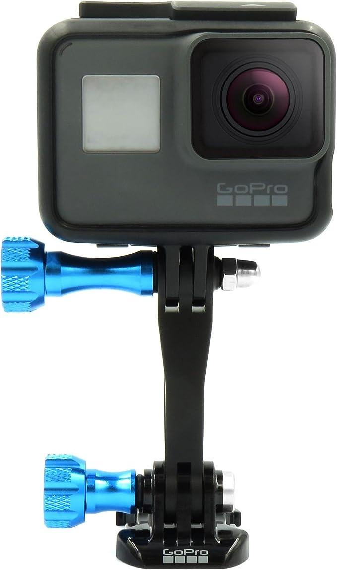 Ixium 3 Teiliges Verlängerungsarm Set Aus Aluminium Zur Halterung Von Gopro Hero 6 5 4 3 Session Sjcam Yi Sport Action Kameras Sport Freizeit