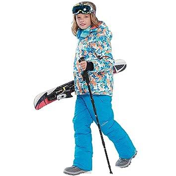 Traje de esquí para niños y niñas de Lshel, traje de esquí ...