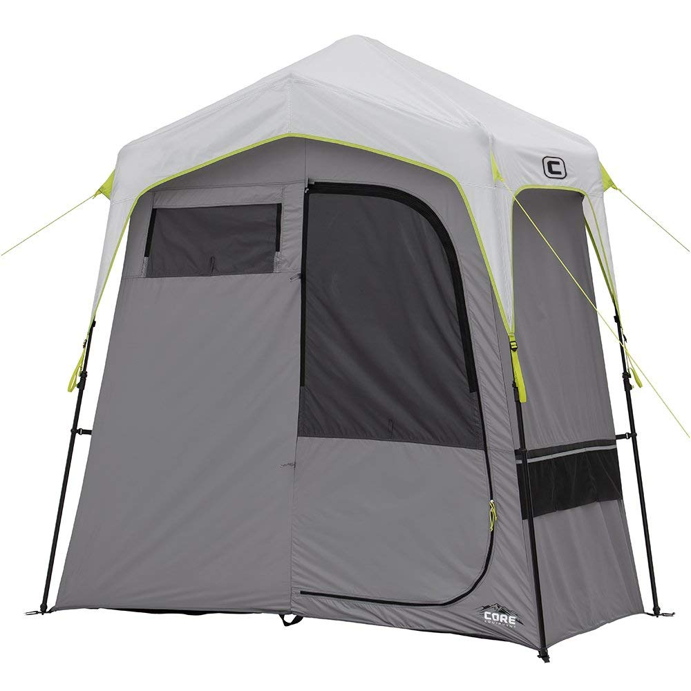 CORE Instant Camping Utility Shower Tent with Changing Room [並行輸入品] B07R4TSB8G