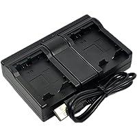 BTBAI Compatible LP-E12 Battery Charger USB Dual LC-E12 NB-E12 6760B002 EOS M M10 M100 M2 M200 M50 100D Rebel SL1…