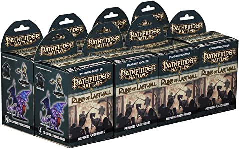 Pathfinder Battles Set 16: Ruins of Lastwall Booster Brick: Amazon.es: Juguetes y juegos
