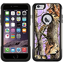 OtterBox Commuter Apple iPhone 6 Plus & iPhone 6S Plus Case - Camo Tree on Purple OtterBox Case
