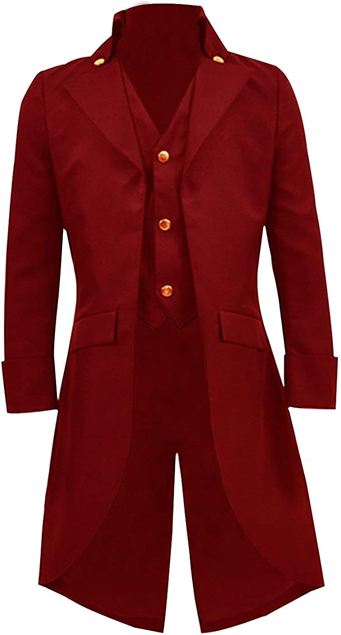 Steampunk Kids Costumes | Girl, Boy, Baby, Toddler BellaPunk Boys Kids Steampunk Jacket Gothic Long Tailcoat Gentleman Coat Costume £35.99 AT vintagedancer.com