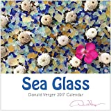 2017 Sea Glass Nature Calendar Great 12×12 Fine Art Wall or Desk Planner. Best Quality Christmas, Birthday & Valentine's Day Gifts for Men, Women and Kids. Unique New Year's Gift Idea.