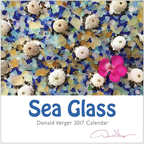 Bachelor Ideas (2017 Sea Glass Nature Calendar Great 12x12 Fine Art Wall or Desk Planner. Best Quality Christmas, Birthday & Valentine's Day Gifts for Men, Women and Kids. Unique New Year's Gift Idea.)