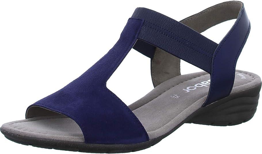 Gabor Damen Sandaletten 24552 16 blau 653516: