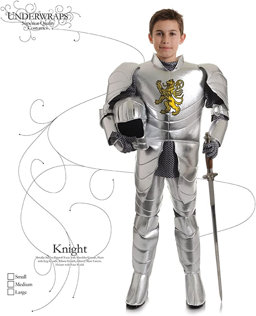 FANCY DRESS KIDS ST GEORGE KNIGHT OUTFIT FITS 4-14 BUY FIVE ITEMS FREE POSTAGE