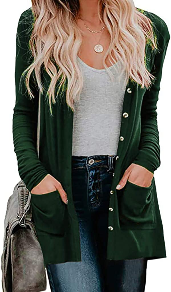 Outwear for Women Plus Size Slim Fit Long Cardigan Camouflage Coats Windbreaker Jacket Tops Blouse WEI MOLO