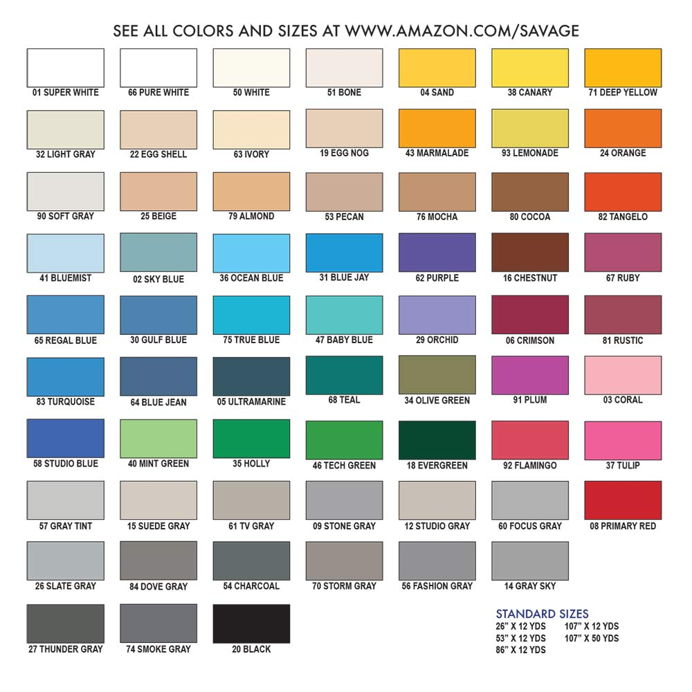 Savage Seamless Background Paper - #51 Bone (86 in x 36 ft) by Savage (Image #7)