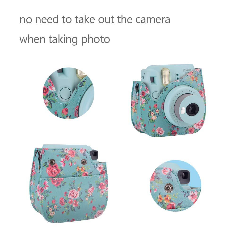 /Álbum//Lente Selfie//Filtros//Marcos para Colgar en la Pared ETC Flamencos A C/ámara con Estuche Mini 9 Paquete de Accesorios para c/ámara Famall Instax Mini 9 para FujiFilm Instax Mini 9 8 8