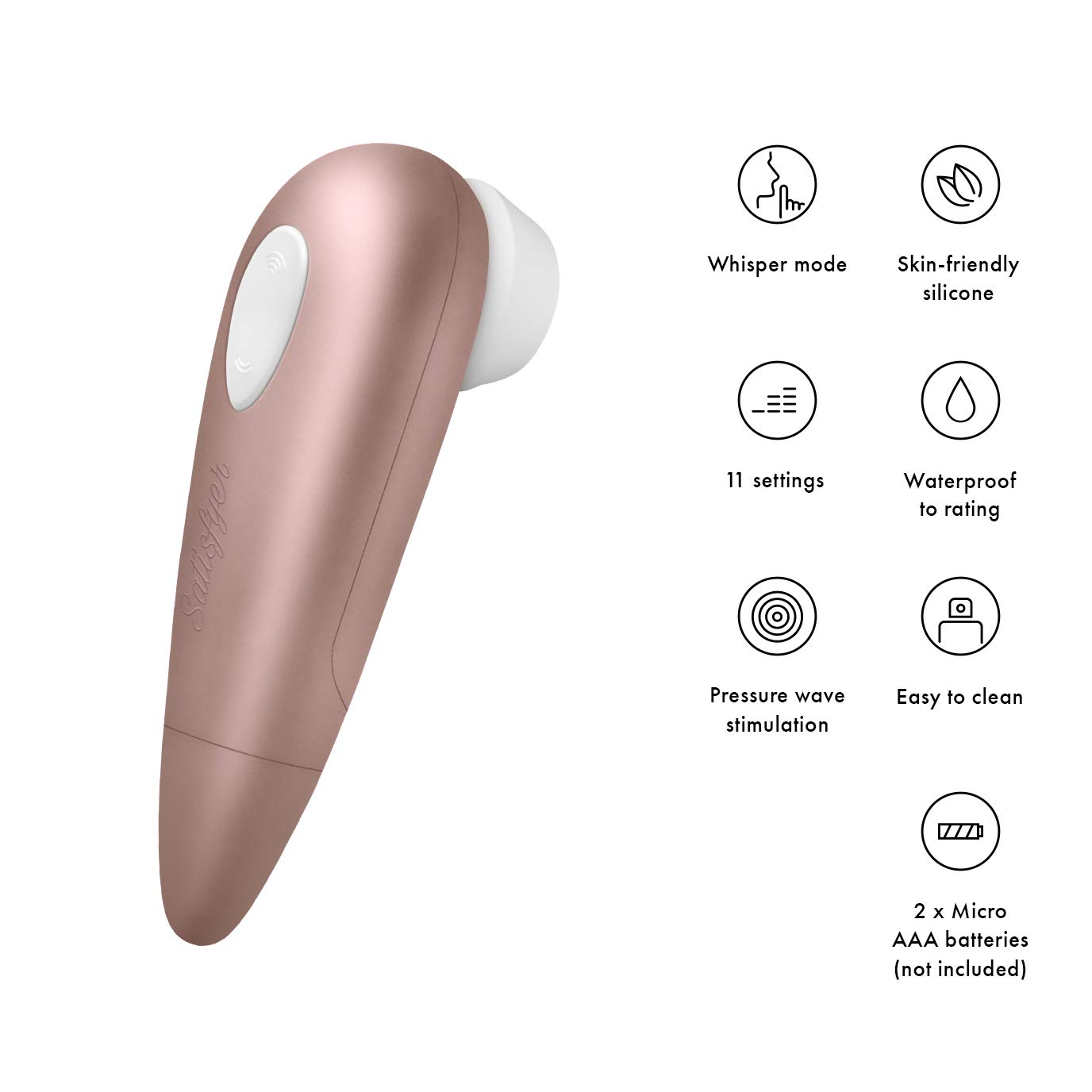 Satisfyer 1 Next Generation Air-Pulse Clitoris Stimulator - Non ...