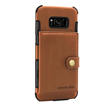 CHENXI Galaxy S8 Plus Funda, Multifuncional Billetera ...