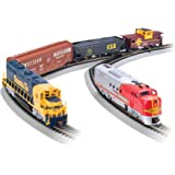 Bachmann Trains - Digital Commander DCC Equipped Ready To Run Electric Train Set - HO Scale