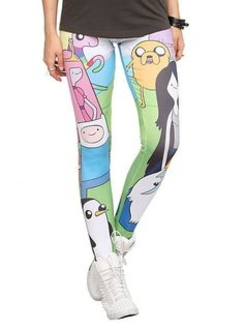Adventure Time Character Leggings Size : Medium
