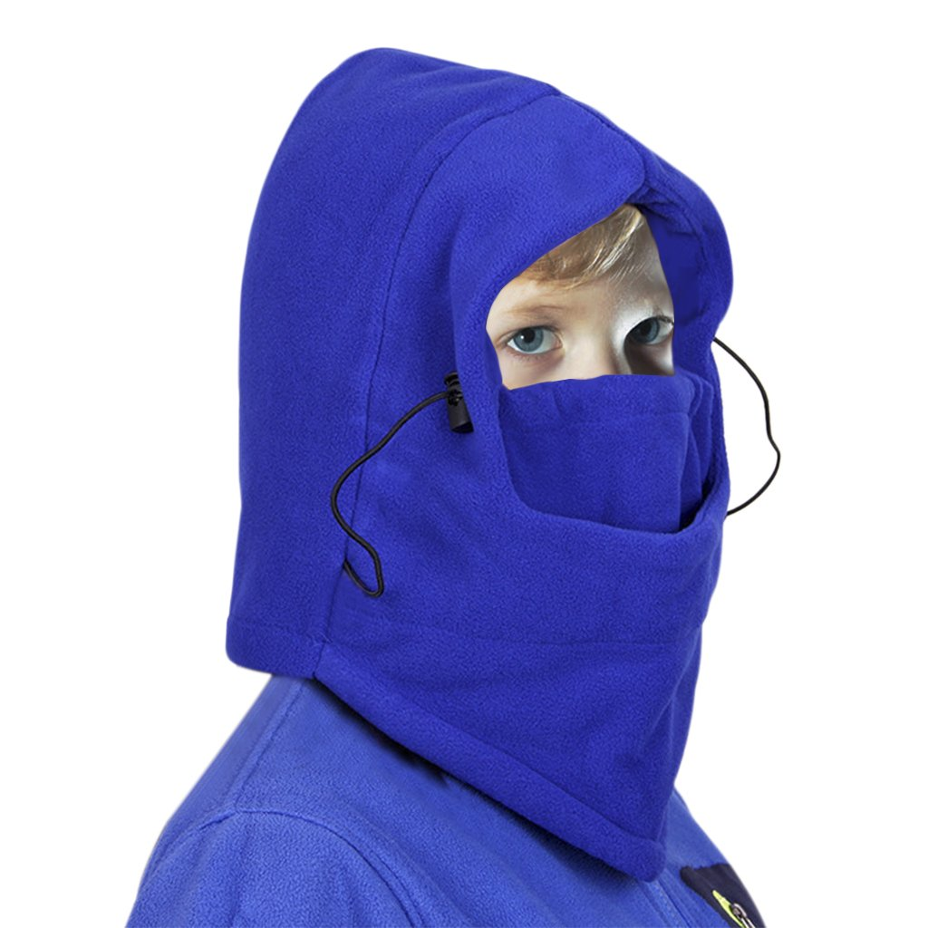 YLucky Child Winter Windproof Hat Thicken Cycling Cap Thermal Face Cover Ski Balaclava Hat Mask Hood Hat Cap For Winter Sports by YLucky (Image #2)