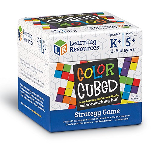 61gmewb%2BnHL - Learning Resources Color Cubed Strategy Game