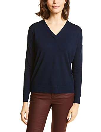 evening Bleu 36 11151 300427 Maja Street Blue Femme Pull One XwzTqY