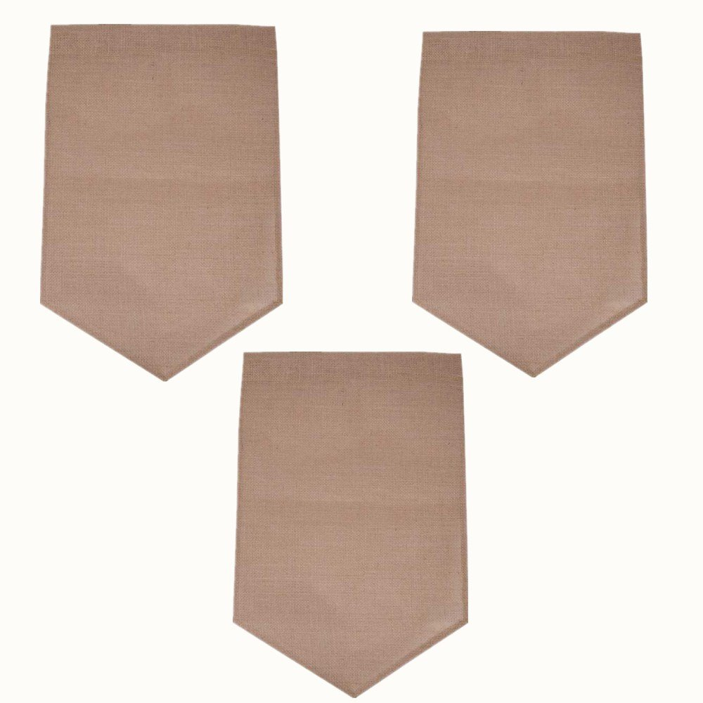 LASLU DIY Garden Flag(Pack of 3) - Perfect for those who love DIY Arts (18 X 12 Inch)