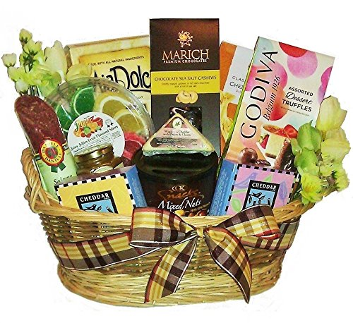 Spring Festival Gourmet Basket by Goldspan Gift Baskets