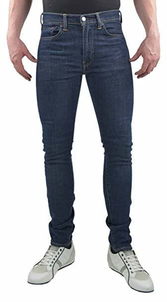 Levi's Men's Skinny Jeans Blue: Amazon.co.uk: Clothing