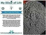 Organic NIGELLA SATIVA Seed POWDER-AKA Black Cumin ,Kalonji, Black Seed- 1 lb