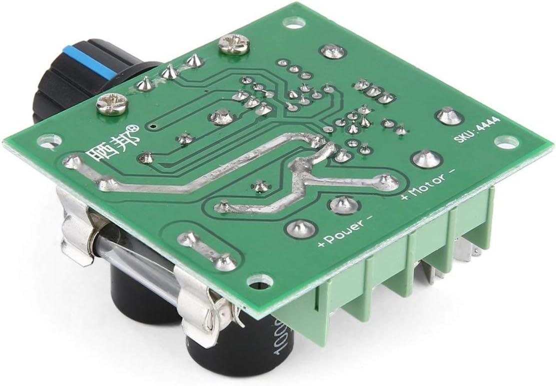 Universal 12V-40V 10A 13khz Pulse Width Modulation PWM DC Motor Speed Regulator Controller Switch Black