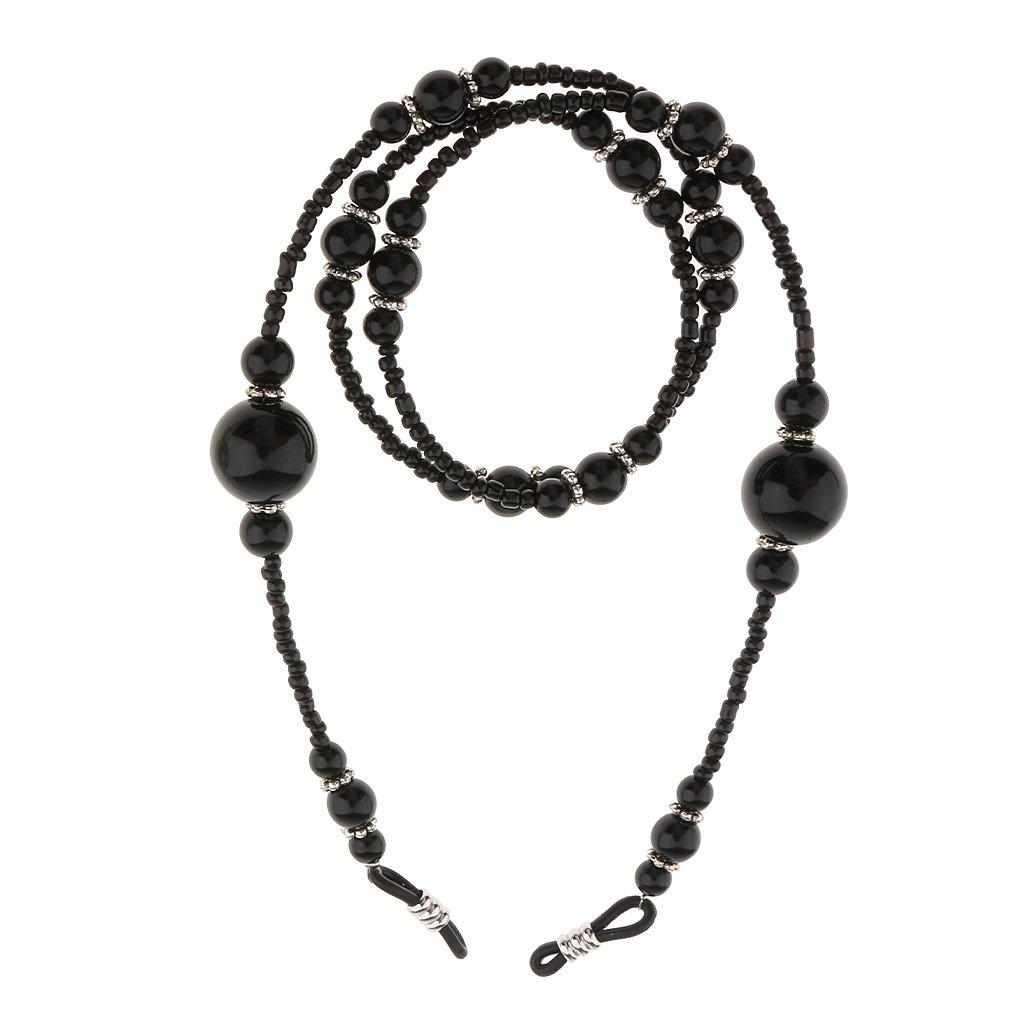 Gazechimp Brillenkette Halskette 65cm Länge, elegant und schön für Sonnenbrille Lesebrille