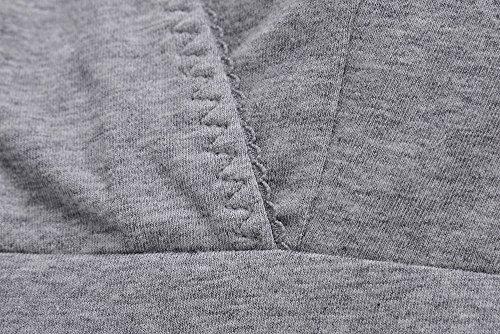 Still-Shirt/ Nursing Top, KUCI® Damen Still-Tank Top Leibchen Schlaf-BH für das Stillen Umstandstop Grey