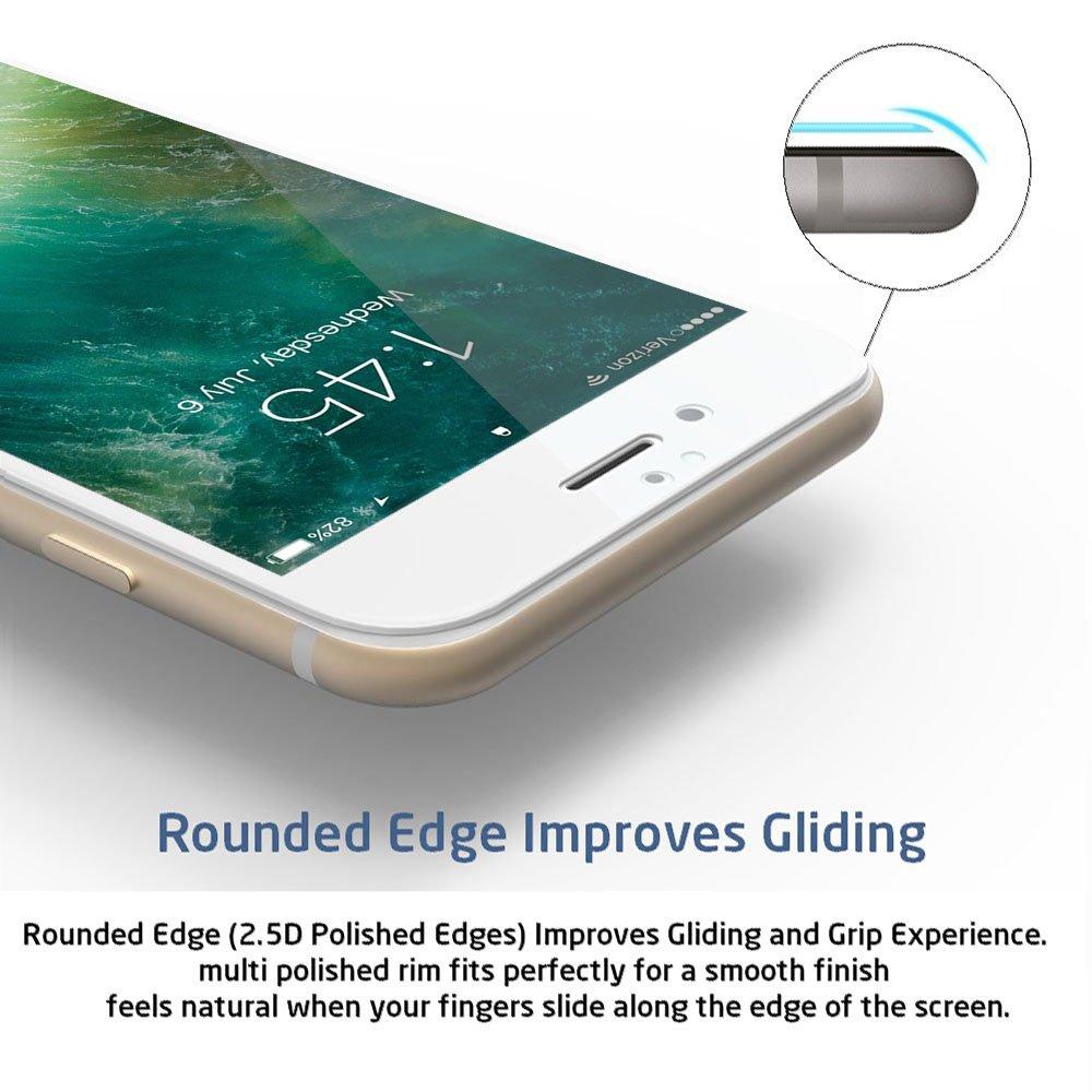 Amazon.com: iPhone 7 Screen Protector, Daswise 2016 Full Screen Anti ...