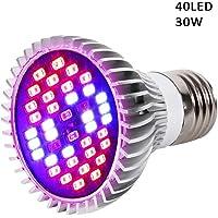 LED élèvent las bombillas, lámpara de Plein espectro