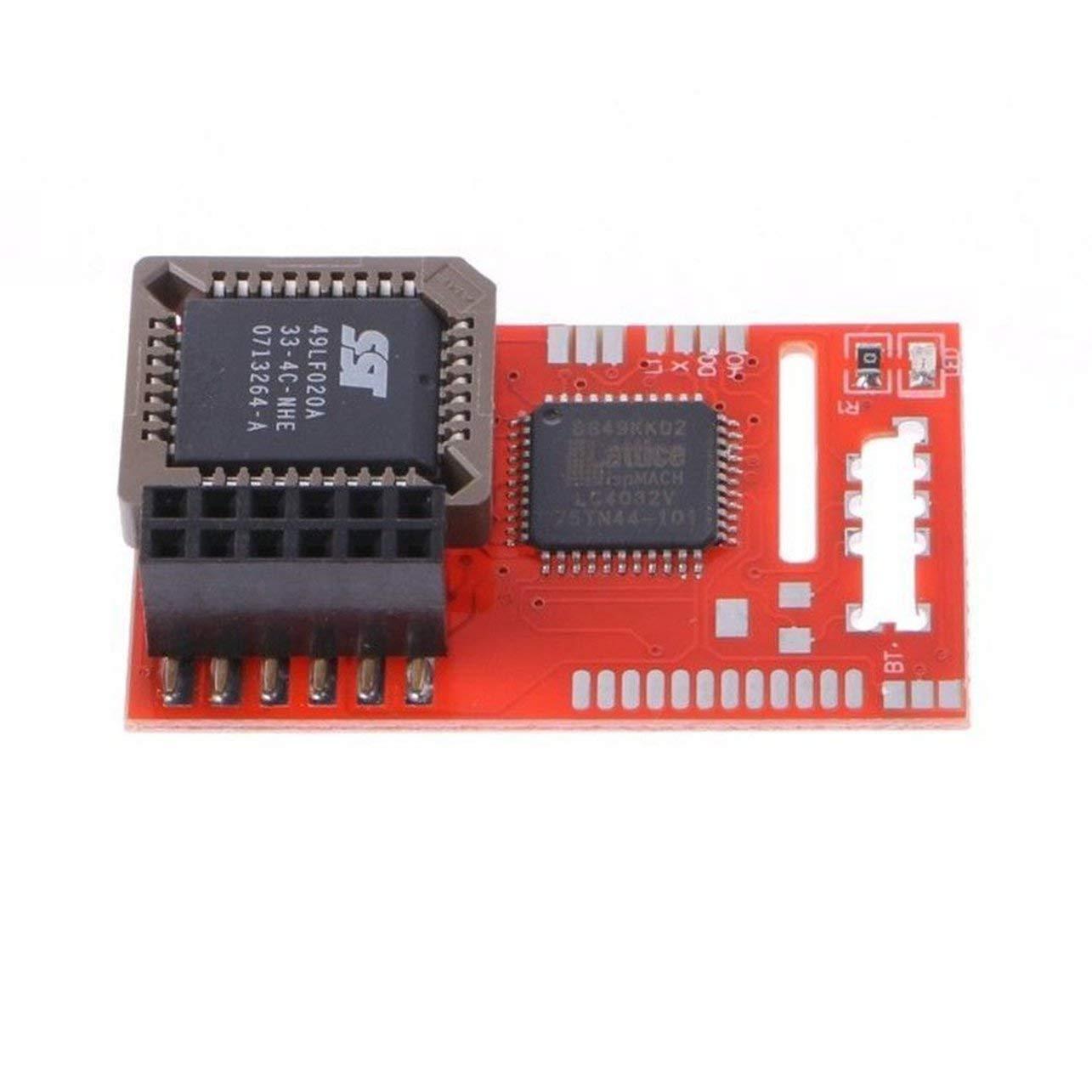 Color: Negro y Rojo para Aladdin XT-4032 Chip de Mod Original legible a m/áquina Adecuado para Xbox