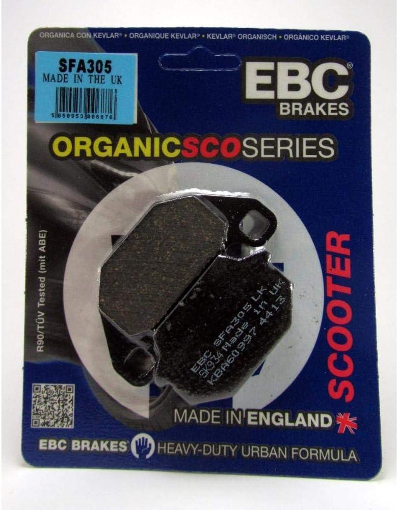 2000-2018 EBC SFA305 Pastillas de Freno compatibles con Kymco People 50 125 200