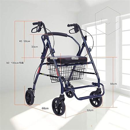 QINAIDI Andador con Movilidad para Trabajo Pesado, Peso ...