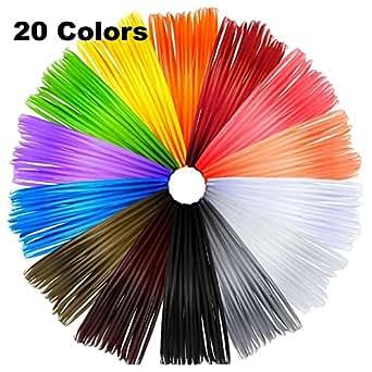 amazon com meiso 3d pen filament refills 3d printer abs