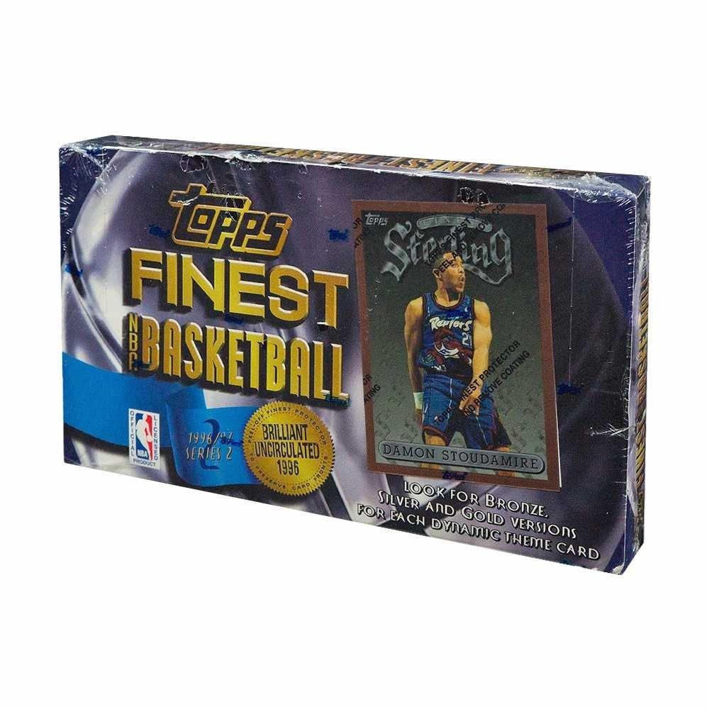 1996-97 Topps Finest Series 2 Basketball Hobby Box Topps Finest Basketball