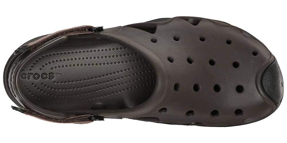 Crocs Men's Swiftwater Clog | Casual Lightweight Beach or Water Shoe