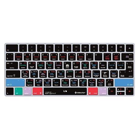 Cubierta de protección transparente para teclado Apple Magic (compatible con todos los teclados UK,